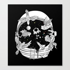 Depth of Discovery (A Case of Constant Curiosity-B/W) Canvas Print
