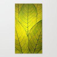 Every Leaf A Flower Canvas Print