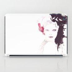 Fashion illustration in watercolors iPad Case