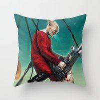Doof Warrior Throw Pillow