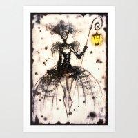 Ashfairy Art Print
