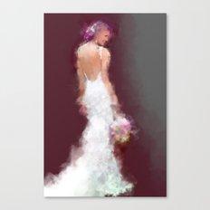Bridal series - SY Canvas Print