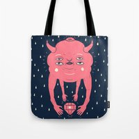 Cloud and Diamond I Tote Bag