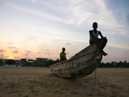 Ghanaian Sunset Art Print