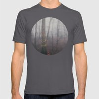 Foggy Holiday Mens Fitted Tee Asphalt SMALL