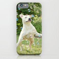Pitbull and Bubbles  Slim Case iPhone 6s