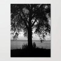 Where I Stand Canvas Print