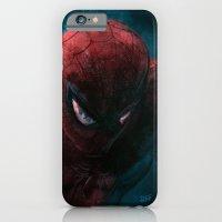Spider-Man painting iPhone 6 Slim Case