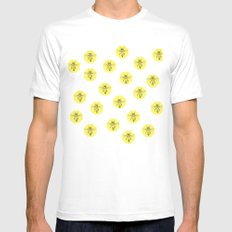 Save The Bees Mens Fitted Tee White SMALL