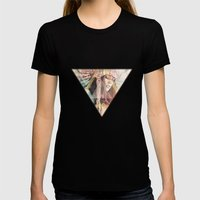 IND Girl Womens Fitted Tee Black SMALL