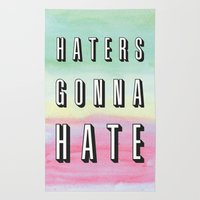 Haters Gonna Hate Rug