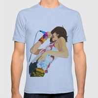 Karen O-h mah lord  Mens Fitted Tee Athletic Blue SMALL