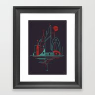 From The Subway To The S… Framed Art Print