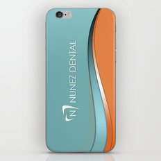 Nunez Dental Logo iPhone & iPod Skin