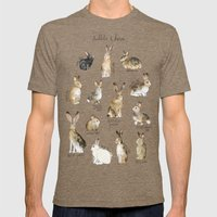 Rabbits & Hares Mens Fitted Tee Tri-Coffee SMALL