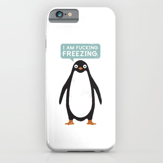 Talking Penguin iPhone & iPod Case