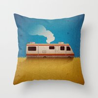 Breaking Bad - 4 Days Ou… Throw Pillow