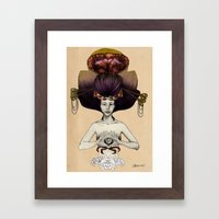 C A N C E R - Colour Version Framed Art Print