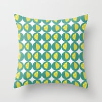 Lemon Zest Throw Pillow