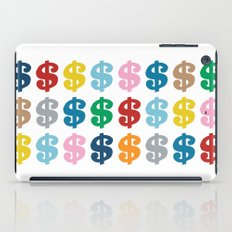 Colourful Money 48 iPad Case