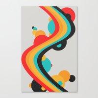 Summer Boom Canvas Print