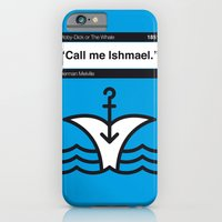 No001 MY MOBY DICK Book Icon poster iPhone 6 Slim Case