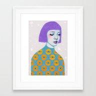 The Observer Framed Art Print