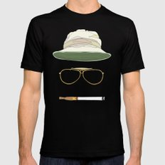 Movie Icons: Fear and Loathing in Las Vegas Black SMALL Mens Fitted Tee