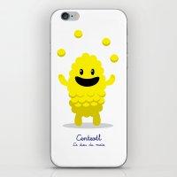 Centeotl - Le Dieu Du Ma… iPhone & iPod Skin