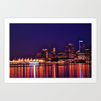 this city, these streets Art Print