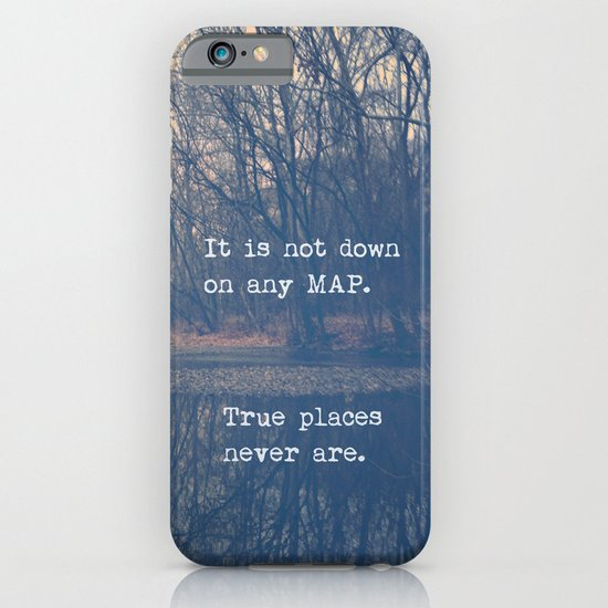 True Places iPhone & iPod Case