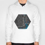 Bridgeport City Map Blac… Hoody