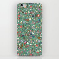 Houses - eco iPhone & iPod Skin