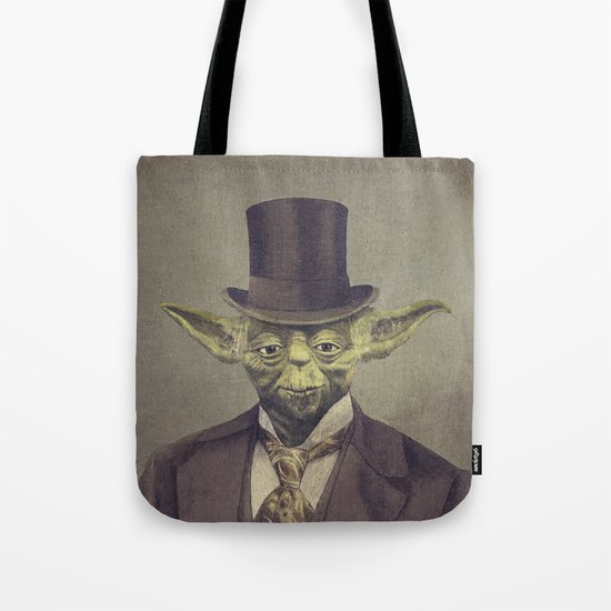 Sir Yodington (square format)  Tote Bag