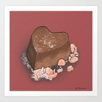 Valentine's Day With Sea… Art Print