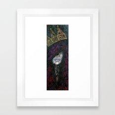 Q.U.E.E.N Framed Art Print