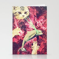 Galactic Cats Saga 2 Stationery Cards