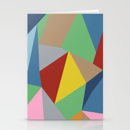 Abstraction Stationery Card