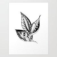 Leaves Of Three Art Print
