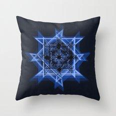 Abstract/Geometric O6b Throw Pillow
