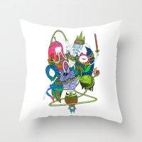 Adventure Time Fan Art C… Throw Pillow
