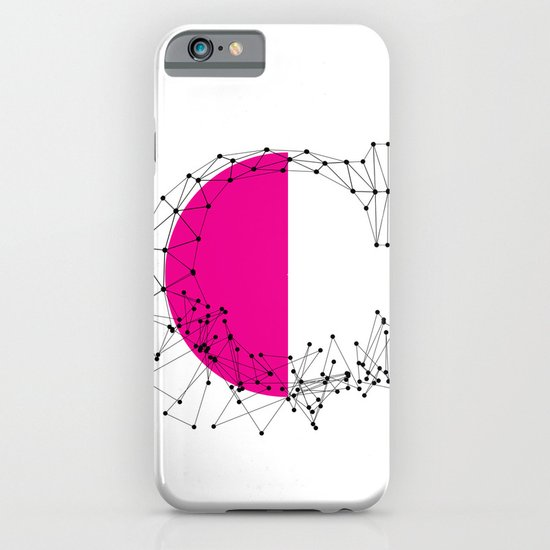 C (abstract geometrical type) iPhone & iPod Case