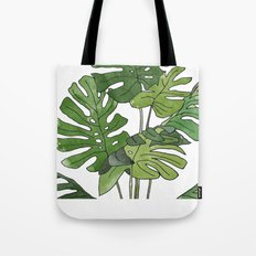 Philodendron Selloum Tote Bag