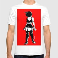 BGIRL Mens Fitted Tee White SMALL