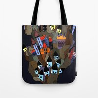 Floating Rock Tote Bag