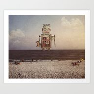 Art Print featuring Sighting by Seamless