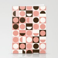 Retro Pink Stationery Cards