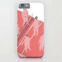 iPhone & iPod Case featuring structure by mariana, a miserável(the miserable one)