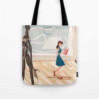Pretty Girl At The Art M… Tote Bag
