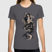 Sirena Drk Womens Fitted Tee Asphalt SMALL